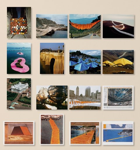 CHRISTO - Estampe-Multiple - All our art is about freedom