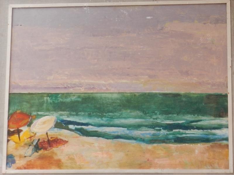 Evzen NEVAN - 绘画 - On the Beach