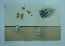 Michel LABLAIS - Print-Multiple - Dés et plume