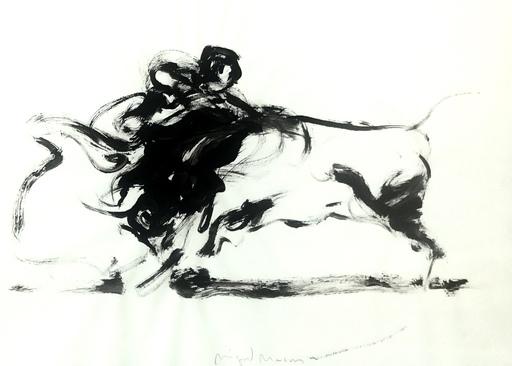 Miguel MACAYA - Dibujo Acuarela - Tauromaquia