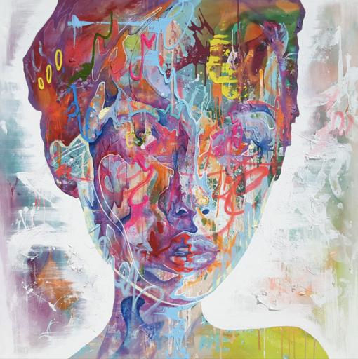 Danny O'CONNOR - 绘画 - Kaleidoscope of graceful carnage