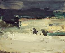 Vladimir SEMENSKIY - Pintura - White Night