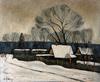 Valeriy NESTEROV - Pittura - Village. Moscow region
