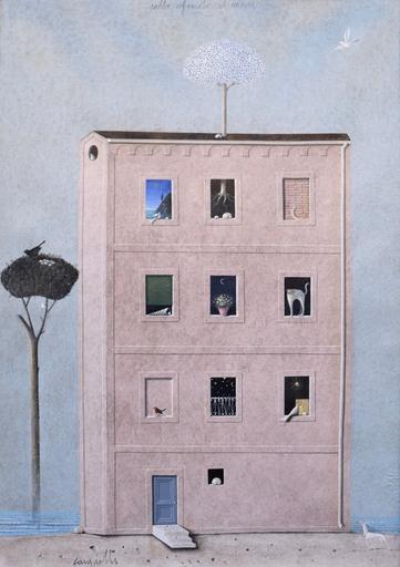Claudio CARGIOLLI - Pintura - Sullo sfondo il mare