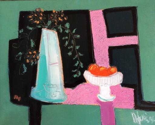 Jean-Pierre MALTESE - Painting - Nature morte aux trois fruits