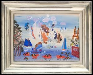 Raoul DUFY - Painting - Décor pour les Ballets Russes