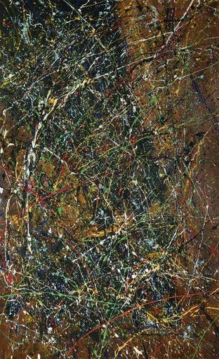 Jean-Jacques MARIE - Gemälde - Composition A413