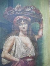 René SEYSSAUD - Painting - La lavandière.