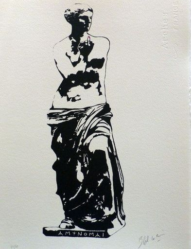 BLEK LE RAT - Estampe-Multiple - Venus De Milo (I resist)