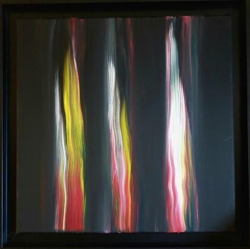 Ennio FINZI - Gemälde - Il verso del colore