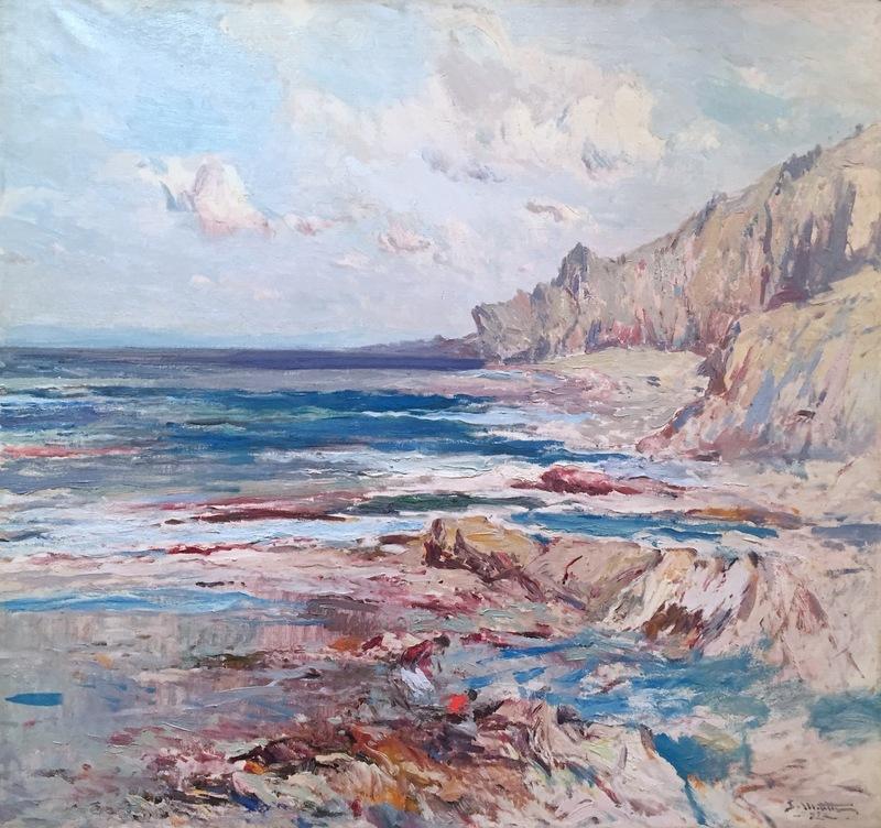 Segundo MATILLA MARINA - Pintura - Costa Brava