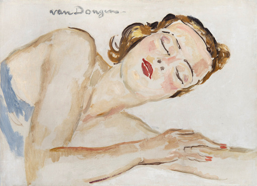 Kees VAN DONGEN - Pittura - Dreaming of love