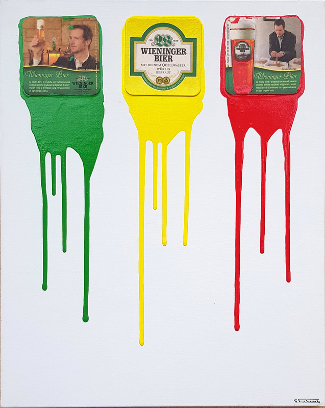 Giuseppe FORTUNATO - Peinture - beer 50x40cm