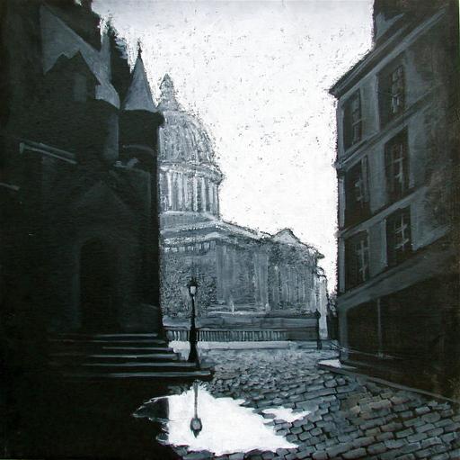 Carlo MAIOLINI - Peinture - Après la Pluie