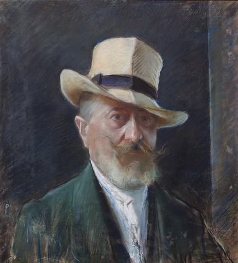 Alceste CAMPRIANI - Pintura - autoritratto - Selfportrait