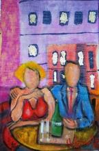 Valerio BETTA - Painting - Anniversario difficile