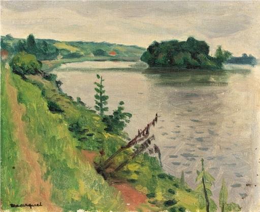 Albert MARQUET - Pintura - La Seine à Rolleboise