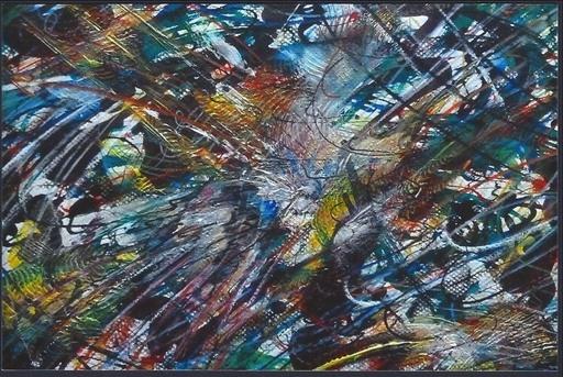 Didier ANGELS - Gemälde - A la recherche de la clarté