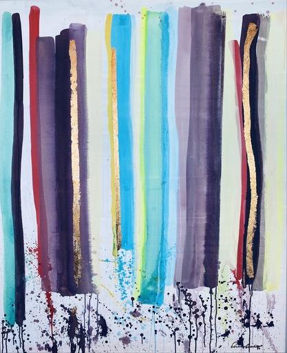 Alexandra BERNARDINI - Painting - Celebration of  Life 120x100 Softstrich 1
