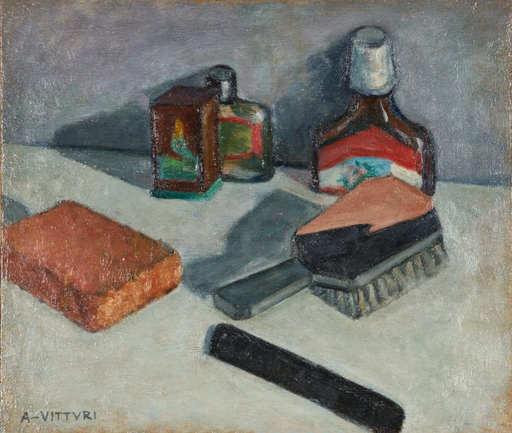 Albano VITTURI - Pittura - NATURA MORTA