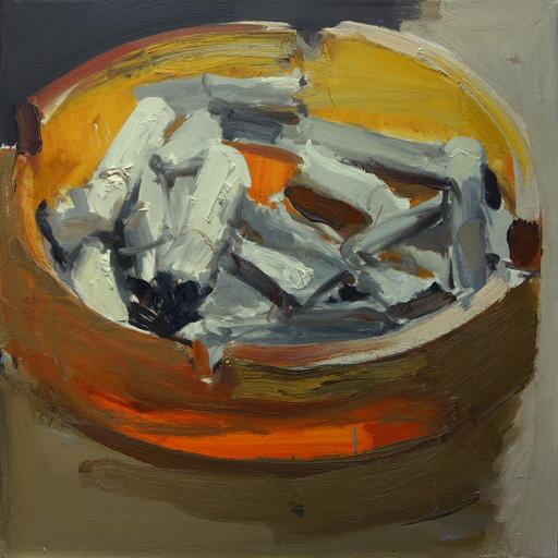 Vladimir SEMENSKIY - Pintura - Ashtray