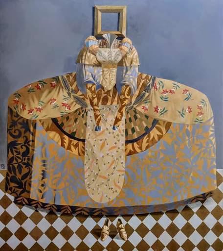 Bobur ISMOILOV - Peinture - Princess portrait