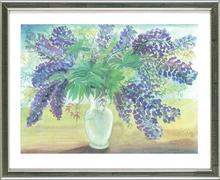 Günter GRASS - Grabado - Blumen von Menne (Lupinen)