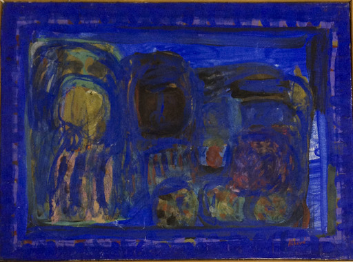 Chafik ABBOUD - Painting - Sans titre