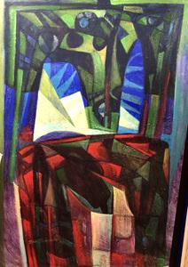 Raul Enmanuel POZO - Pintura - La jungla II