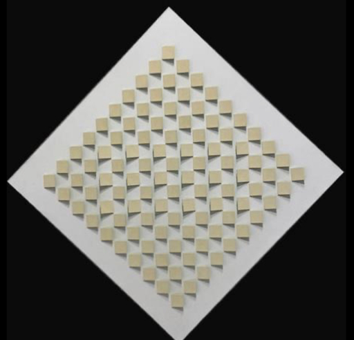 Luis TOMASELLO - 雕塑 - Atmosphere Chromoplastique Verte