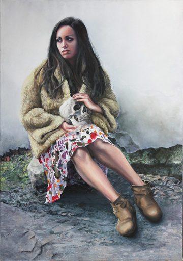 Nathalie BIBOUGOU - Painting - « Marie-Madeleine »
