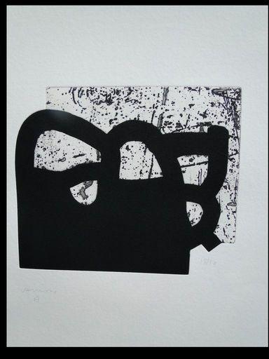 爱德华多•奇利达 - 版画 - Oinarri II