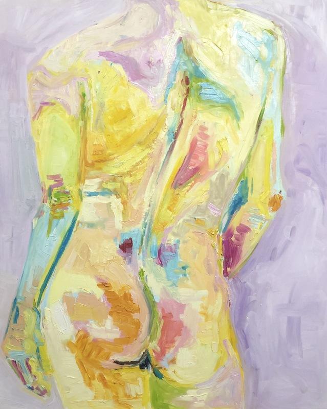 Nicole LEIDENFROST - Gemälde - Adam