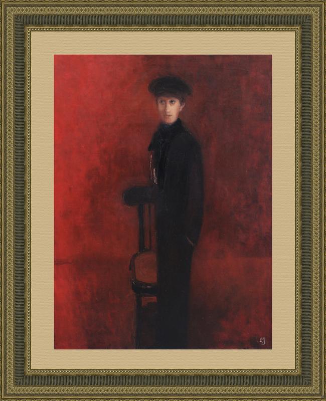 Levan URUSHADZE - Peinture - Boy with a chair