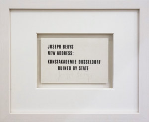 Joseph BEUYS - Print-Multiple - Ruined by the state