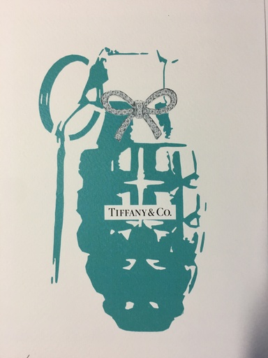 DEATH NYC - Estampe-Multiple - Death NYC -  Tiffany's grenade - 2015