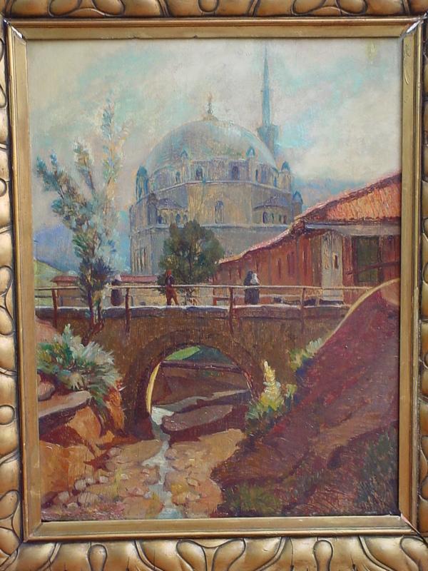 Riccardo RUBERTI - Pintura - Tombul Mosque in Sumen, Bulgaria