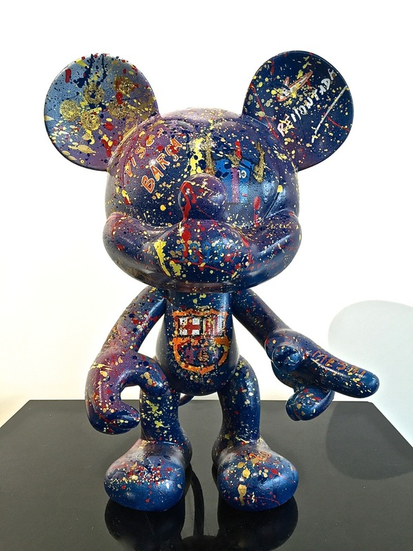 MISS COCO - Sculpture-Volume - Visca Barca