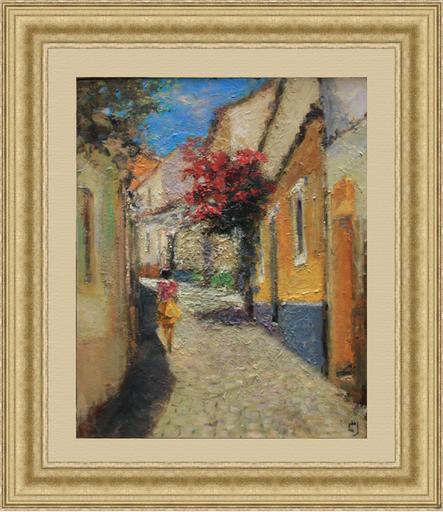 Levan URUSHADZE - Gemälde - Redwood street