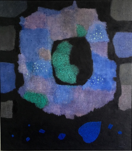 Mordecai ARDON - Pittura - The Birth of a Leaf
