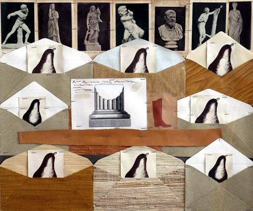 Concetto POZZATI - Peinture - La mia pera desidera diventare una scultura