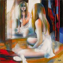 Jean-Baptiste VALADIÉ - Pintura - Feminité