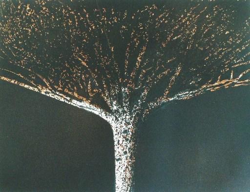 Mario PRASSINOS - Grabado - L'arbre