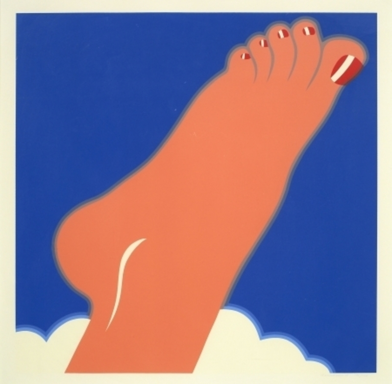 Tom WESSELMANN - Print-Multiple - Seascape (Foot)