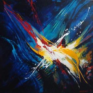 Ursula ULESKI - Peinture - Eclats multiples 2