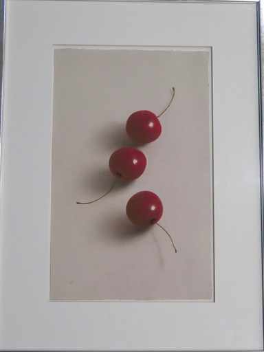 Robert PETERSEN - Drawing-Watercolor - Three Cherries 3