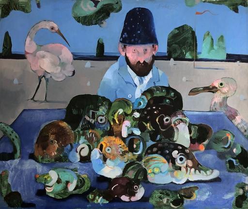 Antonio POSSENTI - Pintura - Una spiaggia