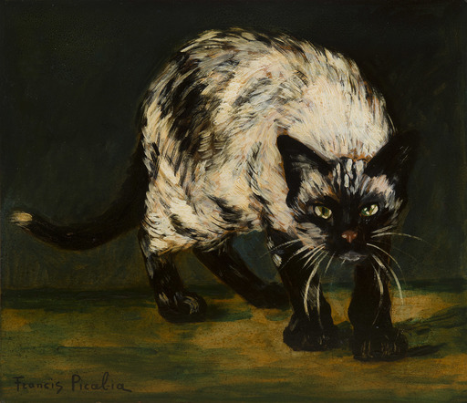 Francis PICABIA - Painting - Le chat