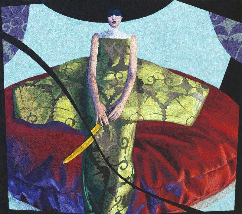 Yves CLERC - Painting - N°360