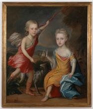 "Charles D'AGAR (Attrib.) - Painting - Charles D'Agar (1669-1723)-Attrib., ""Bird hunters"""